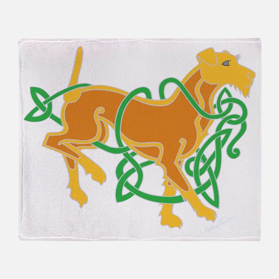 IrishTerrierTrans Throw Blanket