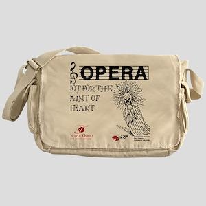 opera-faint-of-heart Messenger Bag