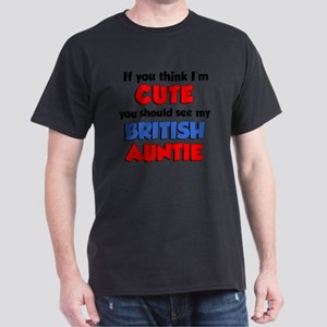 Im Cute British Auntie Dark T-Shirt