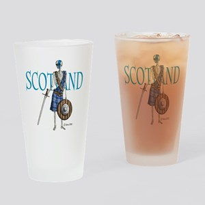 Braveheart white Drinking Glass
