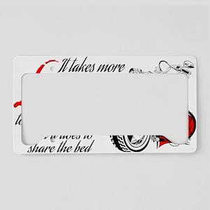love License Plate Holder