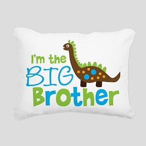 DinosaurImTheBigBrother Rectangular Canvas Pillow