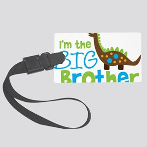DinosaurImTheBigBrother Large Luggage Tag