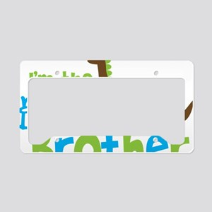 DinosaurImTheBigBrother License Plate Holder