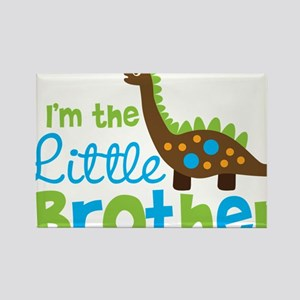 DinosaurImTheLittleBrother Rectangle Magnet