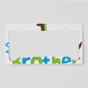 DinosaurImTheLittleBrother License Plate Holder