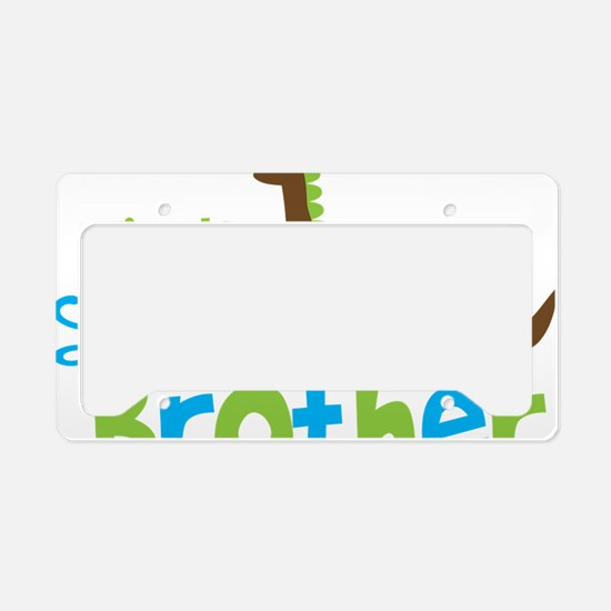 DinosaurImTheLittleBrother License Plate Holder