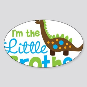 DinosaurImTheLittleBrother Sticker (Oval)