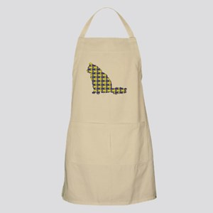 Angora With Fishes BBQ Apron