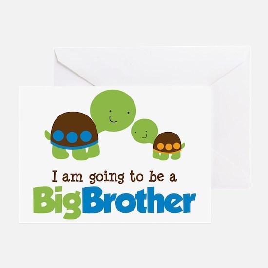 TurtleBigBrotherToBe Greeting Card