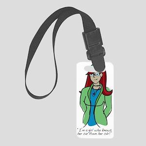 Geektastic Geek Girl: Know Your  Small Luggage Tag