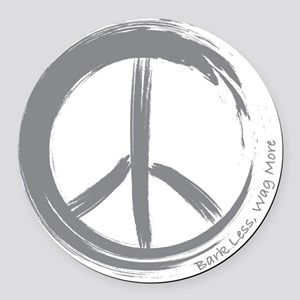 PEACE Wag final Round Car Magnet