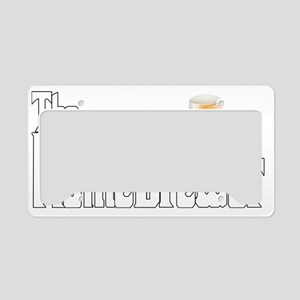 The Home Brewer Ale License Plate Holder