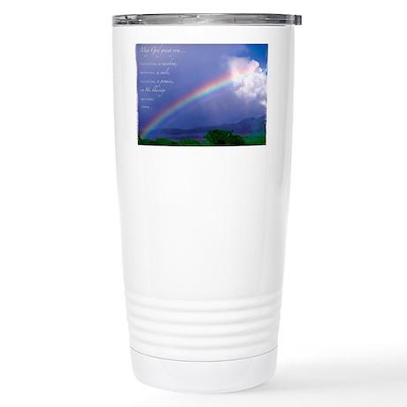 Rainbow Blessing Stainless Steel Travel Mug