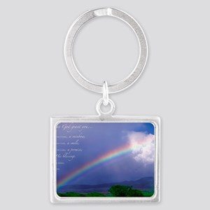 Rainbow Blessing Landscape Keychain