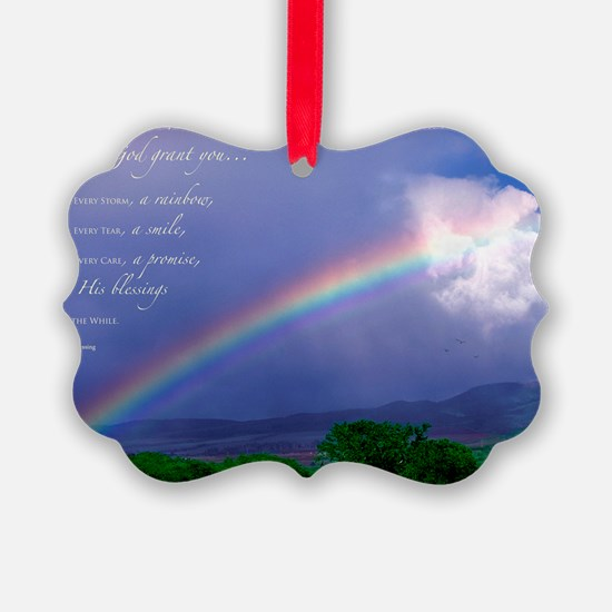 Rainbow Blessing Ornament