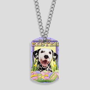 EasterEggCookiesDalmatian Dog Tags
