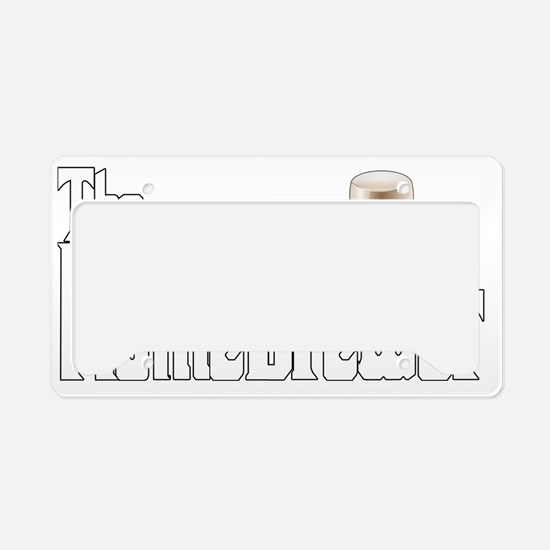 The Home Brewer Stout License Plate Holder