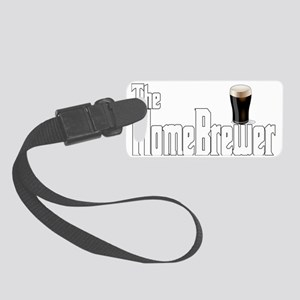 The Home Brewer Stout Small Luggage Tag
