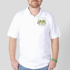 Goldendoodle Golf Shirt