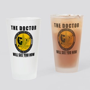 tshirt10x10 Drinking Glass