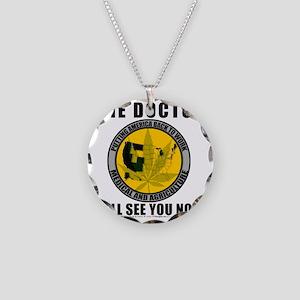 tshirt10x10 Necklace Circle Charm