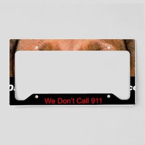 security License Plate Holder
