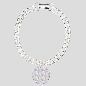 samoyed shower curtain  Charm Bracelet, One Charm