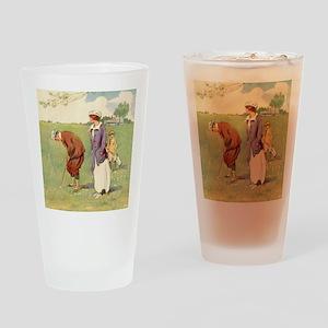 golfart7100 Drinking Glass