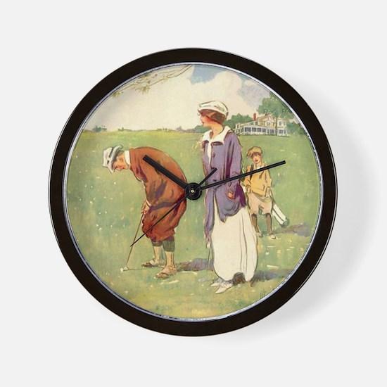 golfart7100 Wall Clock