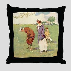 golfart7100 Throw Pillow