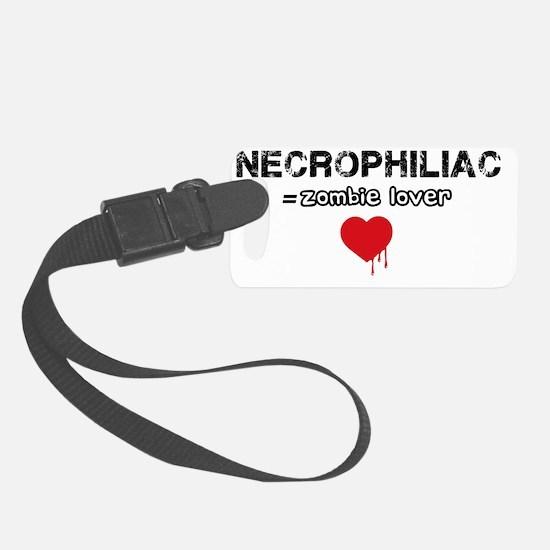 necrophiliac Luggage Tag