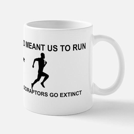 Run Velociraptor Bumper Mug