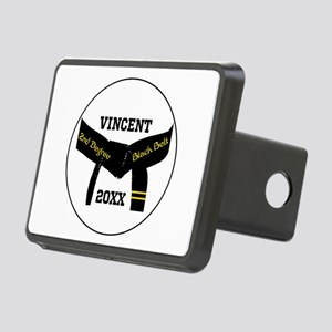 Martial Arts 2Nd Degree Black Belt Hitch Cover