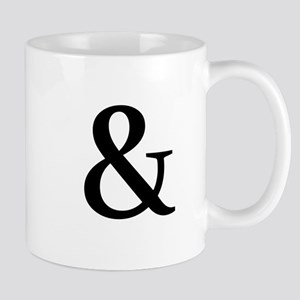Black Ampersand Mugs