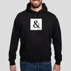 Black Ampersand Hoodie