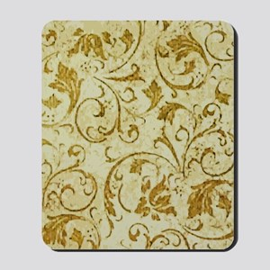 PRINTS - vintage scroll Mousepad