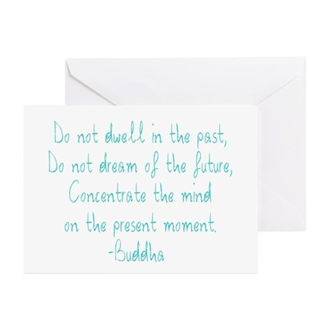 Concentrate on the PRESENT Greeting Cards (Package