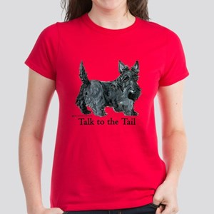 Scottish Terrier Attitude Women's Dark T-Shirt