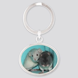 shirtrats Oval Keychain