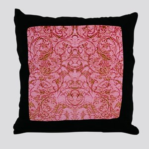 PRINTS - vintage scroll Throw Pillow