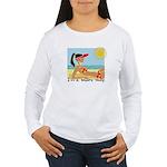 I'm a Shore Thing Women's Long Sleeve T-Shirt