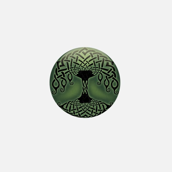 celtic-tree-CRD Mini Button