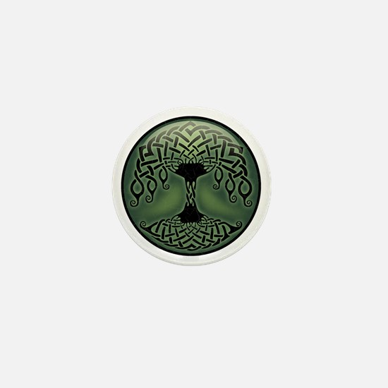 celtic-tree-T Mini Button