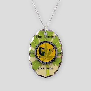 keepsakestashbox Necklace Oval Charm