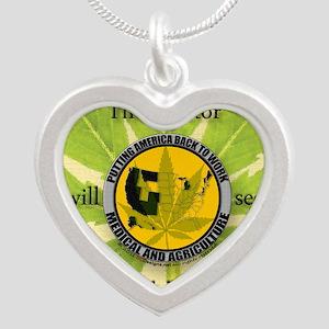 keepsakestashbox Silver Heart Necklace