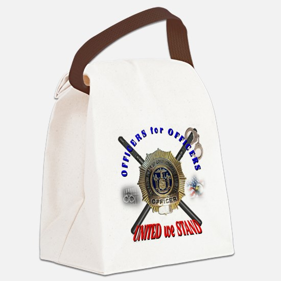 OFFICERS FOR OFFICERS11 Canvas Lunch Bag