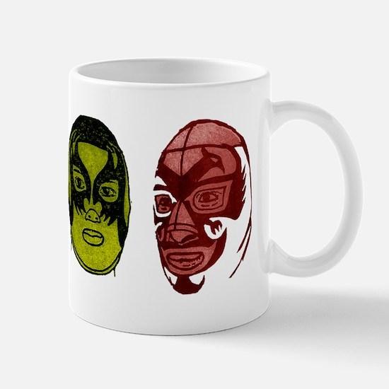 Lucha Libre blank_back Mug