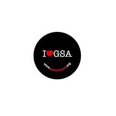 I Heart GSA Mini Button (10 pack)
