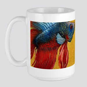 Beautiful Betta Fish Large Mug